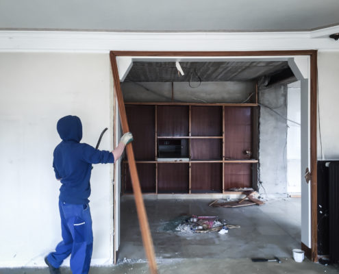 Baustellen Rückbau Demontage Bocholt