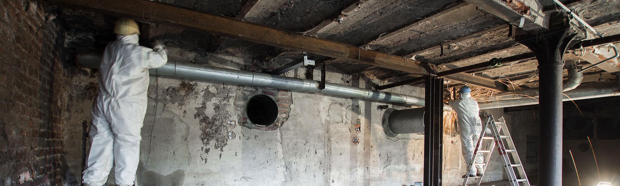 BS-Bauservice Baustelle Hammersen Bocholt Entkernung